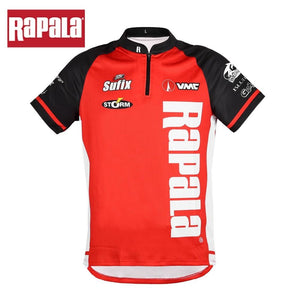 Rapala Brand  Fishing T Shirt Quick Drying Breathable Anti UV Sun Protection - Fishing Manor