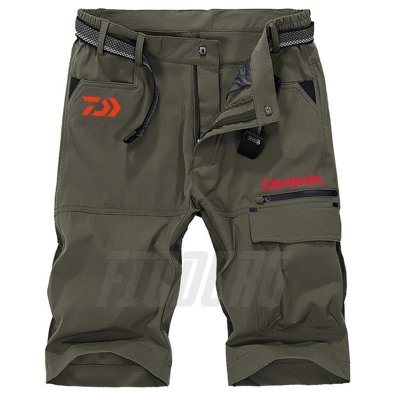 Daiwa Quick Dry Mens Breathable Fishing Shorts - Fishing Manor