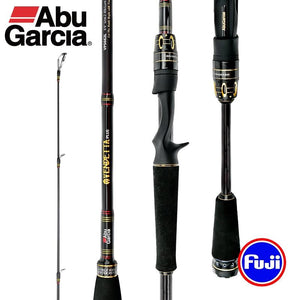 Abu Garcia VENDETTA PLUS Carbon fiber Fishing rod With FUJI Rings - Fishing Manor