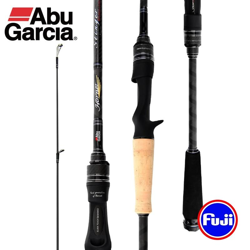 Abu Garcia Hornet Stinger Vanguard Carbon Fiber Fishing Rod With FUJI Guide Rings - Fishing Manor