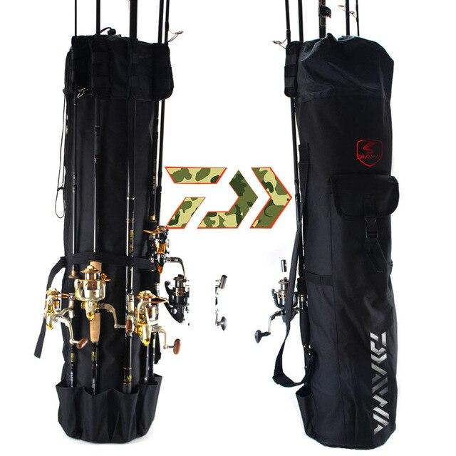 Daiwa Foldable Portable Multifunction Nylon Fishing Rod Bag - Fishing Manor