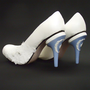 Wedgewood Wedding Heels