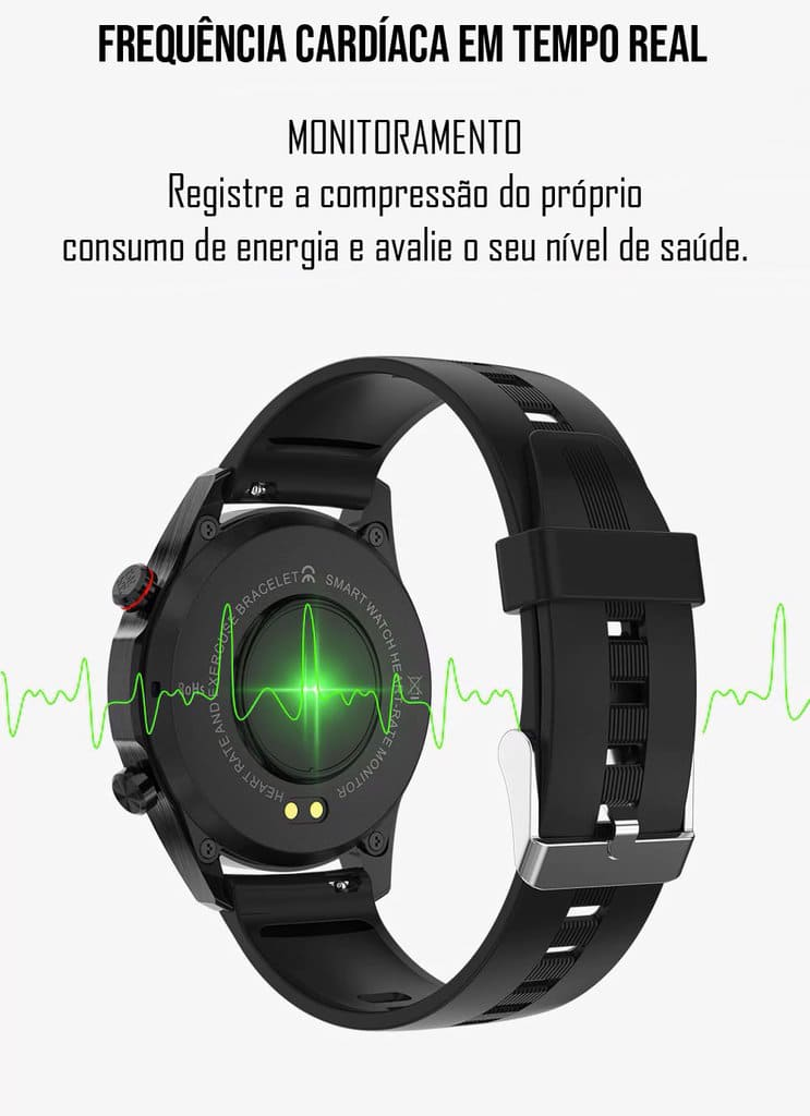 Smartwatch Bluetooth Android IOS E1-2 Sports Fitness Tracker