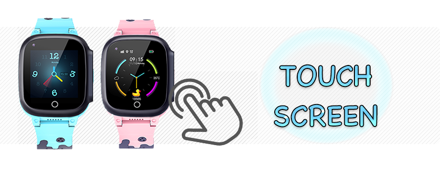 Touch Screen | SmartiZ Kids First Smart Phone Watch With Video Calling and messaging