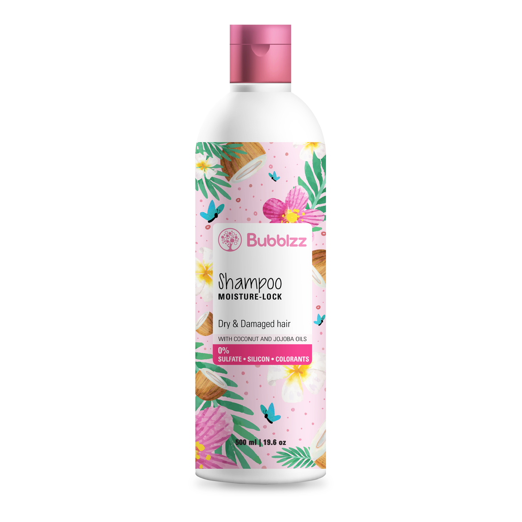 Moisture Lock Shampoo for Dry Hair