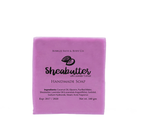 Shea Butter with Lavender Extract Soap