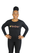 FyreDrip Long Sleeve Tee - Black - FyreDrip