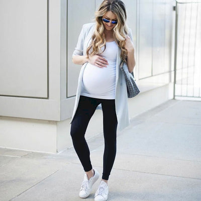 Belly Support Maternity Leggings - FyreDrip
