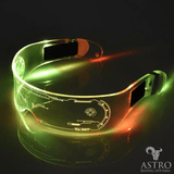 Cyberpunk LED Visor Glasses - Astro Rising Apparel