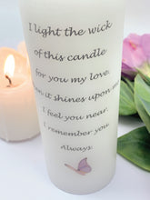 Load image into Gallery viewer, Always - Personalised Memorial Candle