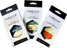 Load image into Gallery viewer, Labeille Co. Beeswax Wraps. Starter Kit.