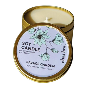 Soy Wax Candle - Savage Garden