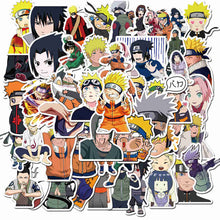 Load image into Gallery viewer, 50pcs Naruto Anime Stickers