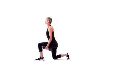 Dumbbell Alternating Lunge