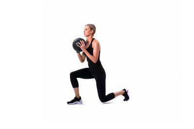Med Ball Alternating Lunge