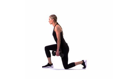 Dumbbell Pulse Lunge