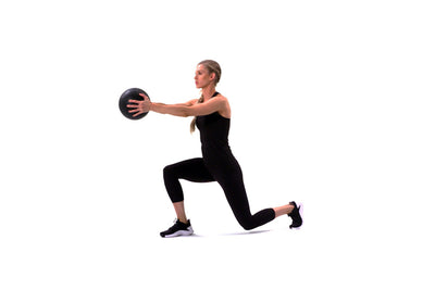 Weighted Rotation Lunge