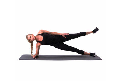 Side Plank + Hip Pulse