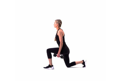Dumbbell Squat + Lunge