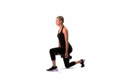 Dumbbell Static Lunge