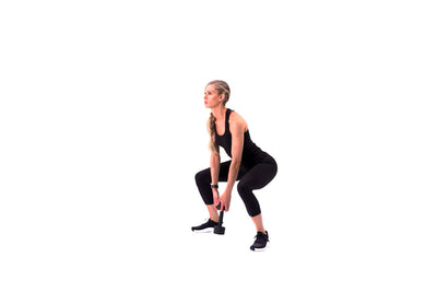 Dumbbell Stop Squat
