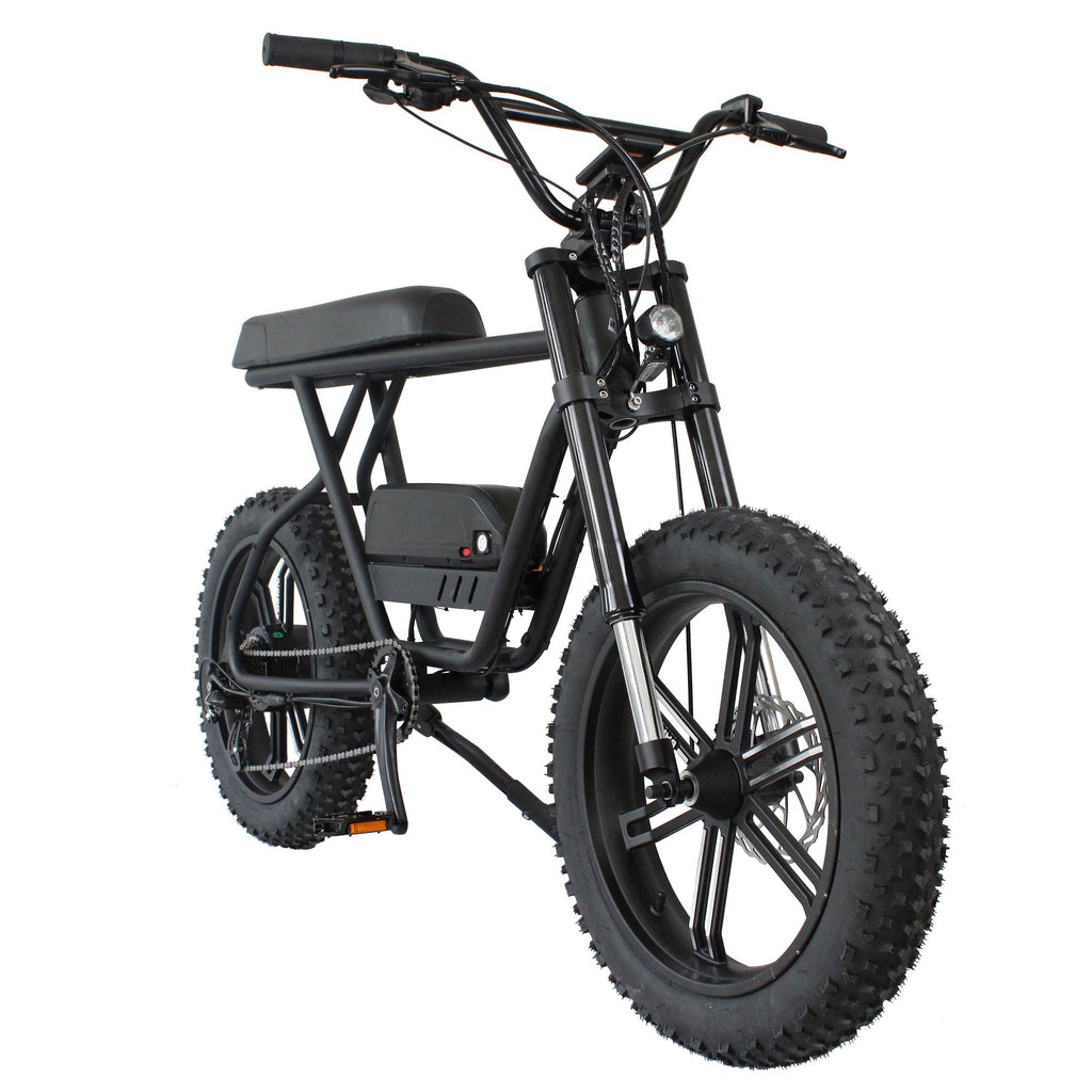 eBikey Cruiser - 500W - 20 Inch ebike fat tire electric bike - ebikey