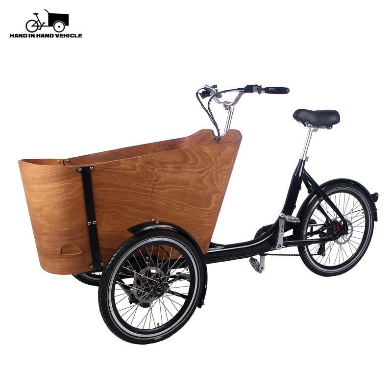 eBikey Cargo - Dutch tricycle cargo bike for kids/pets - ebikey