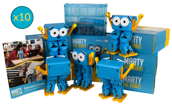 Multipack photo of Marty the Robot V2