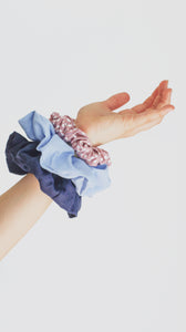 Kids Face Mask - Scrunchie Combo - Dusky Pink - PRE ORDER September