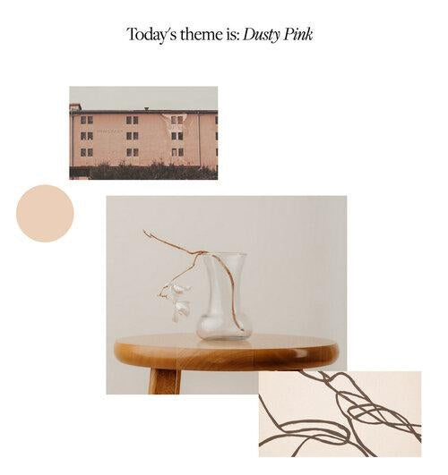 Color Inspiration: Dusty Pink-Slowly Gathered