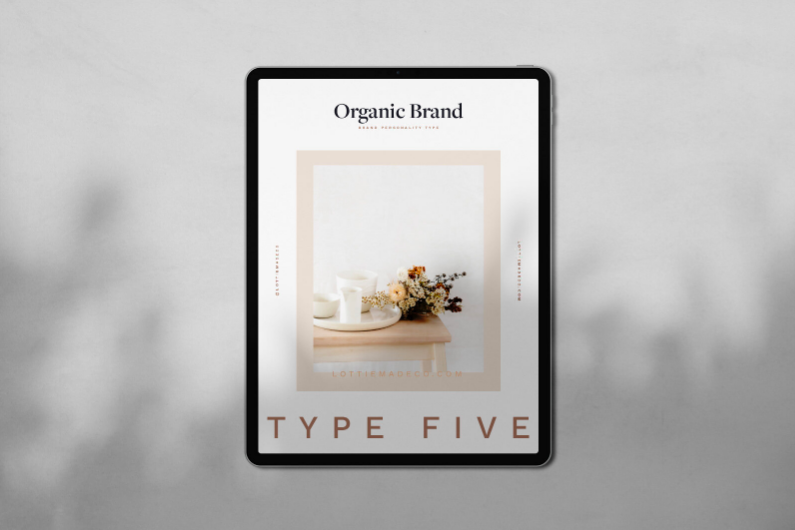 Brand Type 2: The Sophisticated Brand-Slowly Gathered