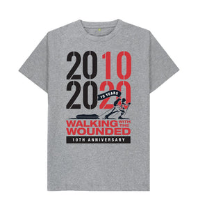 Athletic Grey 2010-2020 T-shirt