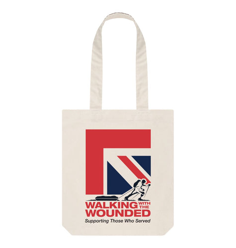 Natural WWTW Union Jack Tote Bag