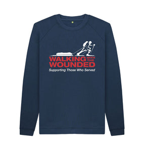 Navy Blue WWTW Logo Sweater