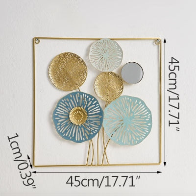 Modern Design Wall Hanging Crafts Desktop Decoration Figurines Creative Display Ornaments With Mirror Wedding Decoration Gifts
