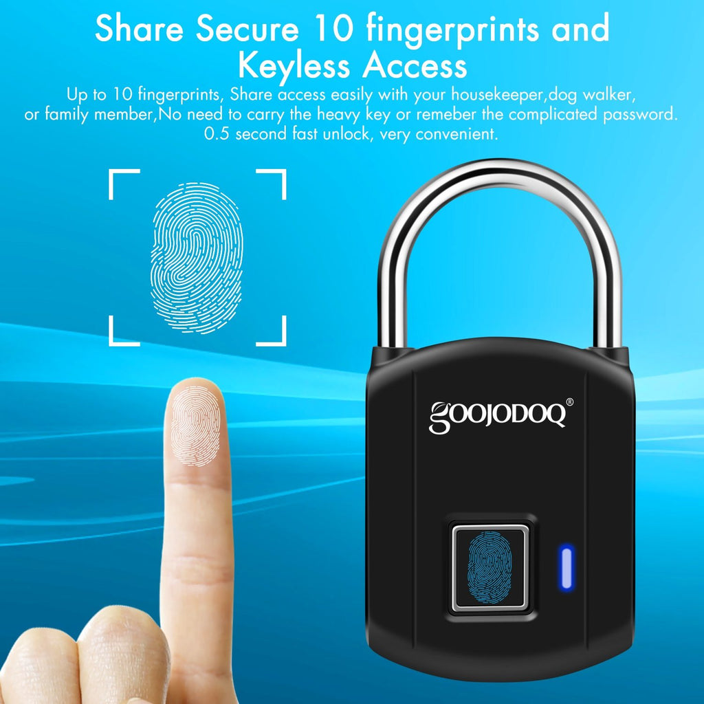 Electric USB Smart Fingerprint Lock