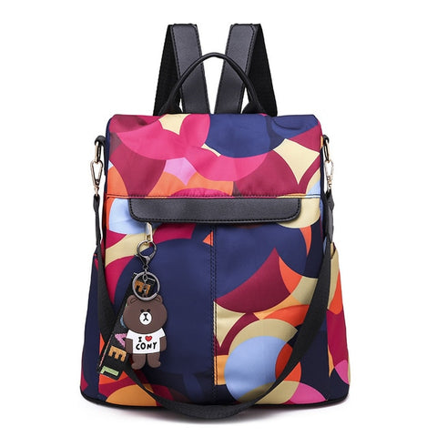 Anti-theft Women Backpacks Multifunction Ladies