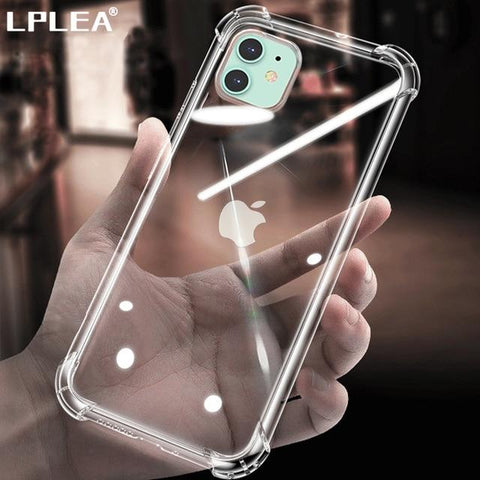 Image of Protective Transparent Glass Phone Case