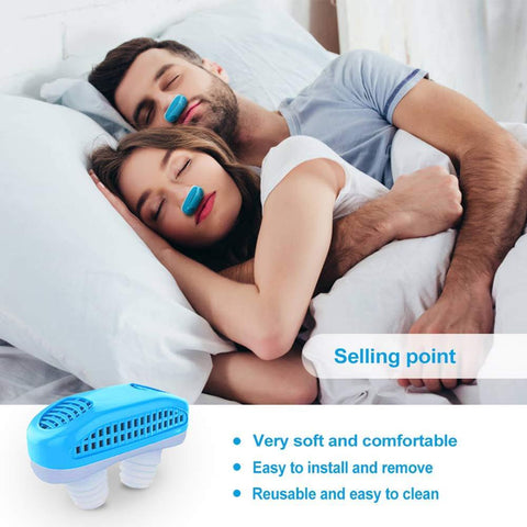 Image of Silicone anti snoring Nasal Dilators Anti Snore Nose