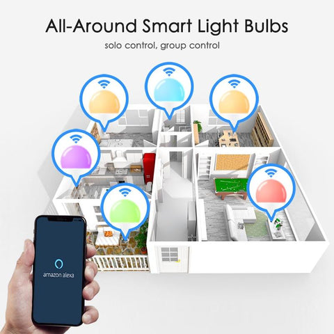 Image of 15W WiFi Smart Light Bulb