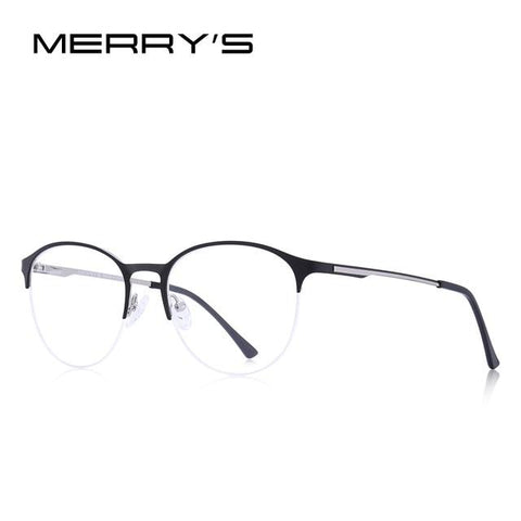 Image of MERRYS DESIGN Unisex Fashion Trending Oval Glasses Frame