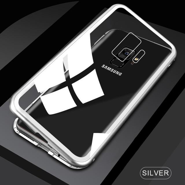 Magnetic Metal Case For Samsung
