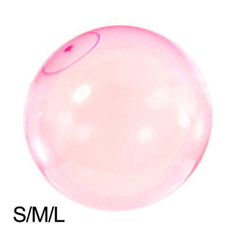 Bubble Balls Soft Air Water Filled Balloons Blow Up Children Summer
