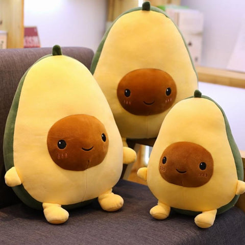 Cute Stuffed Plush Avocado Toy