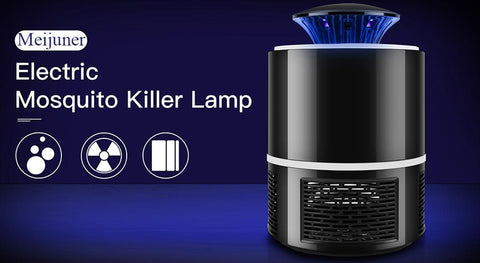 Meijuner Mosquito Killer Lamp USB Electric No Noise