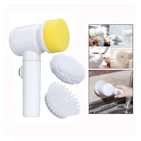 Image of Brush Nylon Bathtub Electric Multi-functional Household Tools