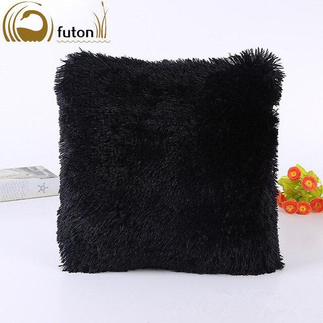 Soft Fur Home Bed Pillowcase