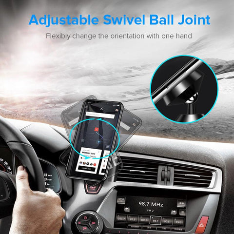 Image of GETIHU Universal Magnetic Car Phone Holder Mobile