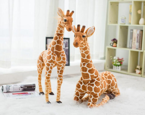 Image of Cute Soft Giant Size Giraffe Plush Toy