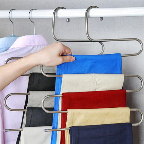 Image of Multifunctional Space Saving Hanger